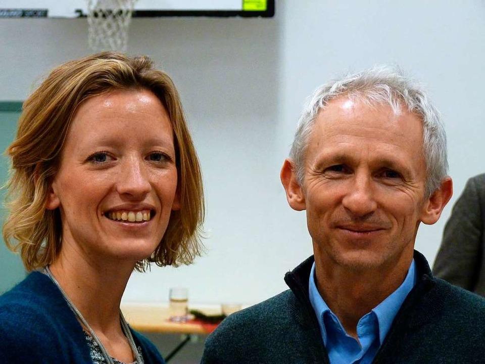Susanne van Dijk und Bernd Wippel  | Foto: Dirk Sattelberger