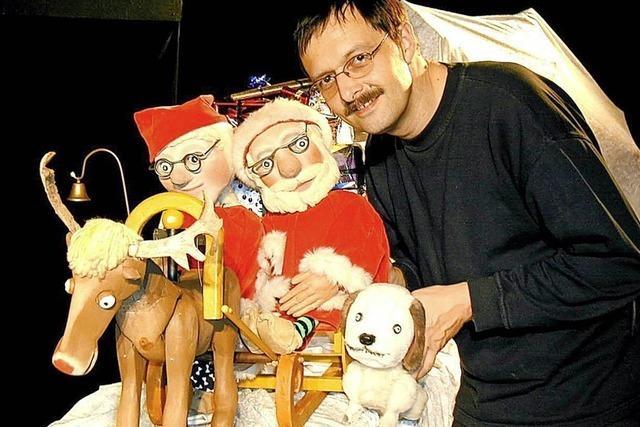 Im Bad Säckinger Kursaal wird am Sonntag, 9. Dezember, um 15 Uhr das Puppentheaterstück