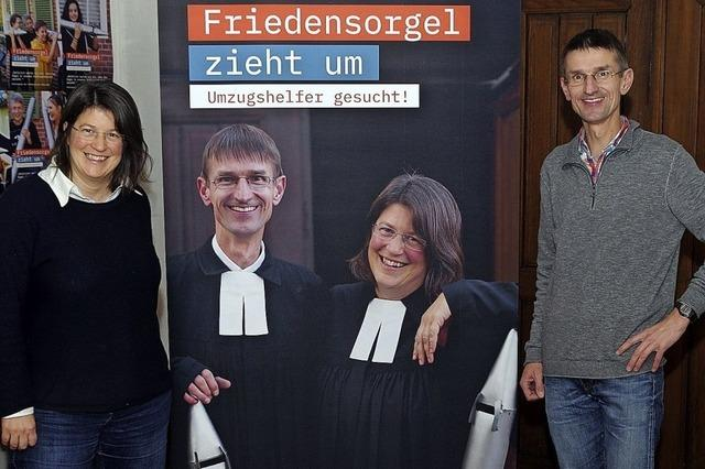 Orgel sucht Umzugshelfer