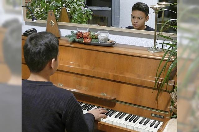 Für seinen Klavierlehrer ist er ein Phänomen