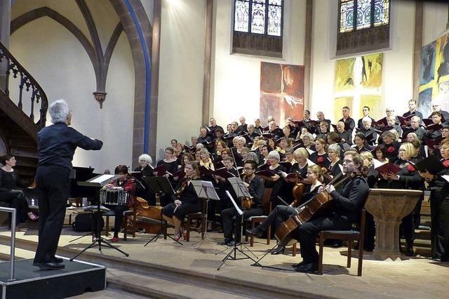 Figuralchor bringt tschechische Weihnachtsmusik zur Aufführung