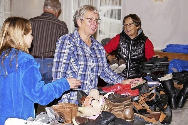 Wie Schuhe gut tun