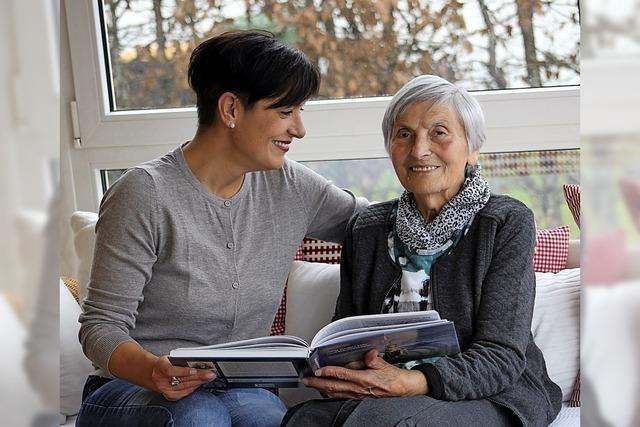 Hilfe für Senioren im täglichen Leben