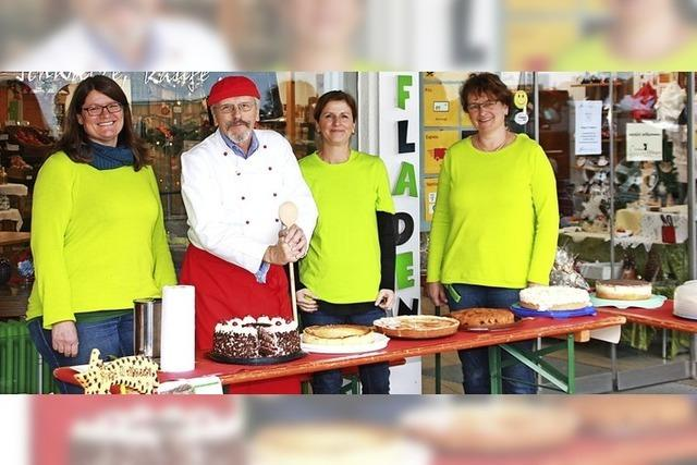 Kuchen für den Dorfladen Öflingen