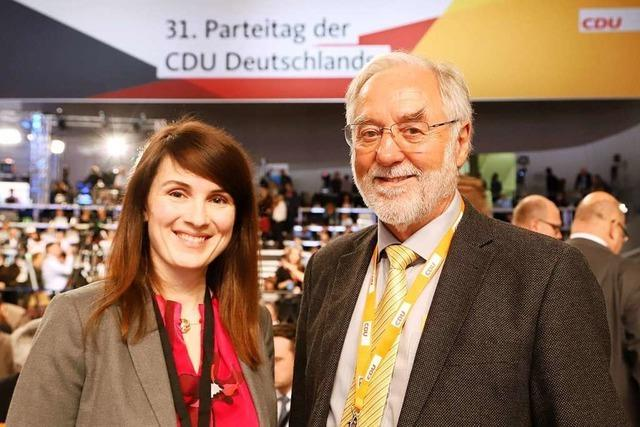 Das sagen Freiburger CDU-Funktionäre zur Wahl von AKK