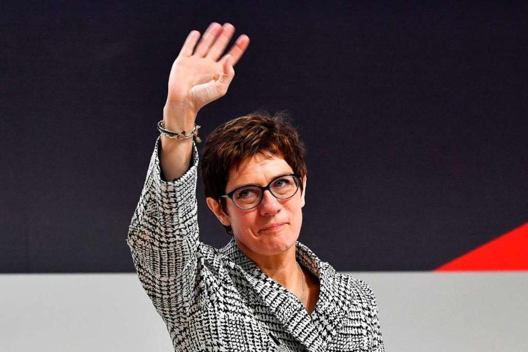 Annegret Kramp-Karrenbauer  | Foto: AFP