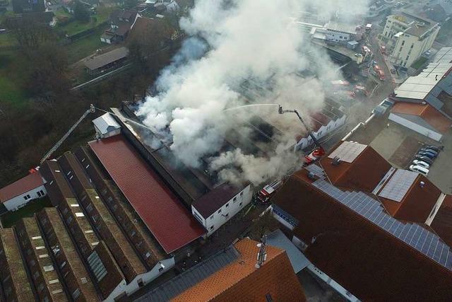 Wie die Fernmeldegruppe des Kreises Waldshut Brände mit der Drohne bekämpft