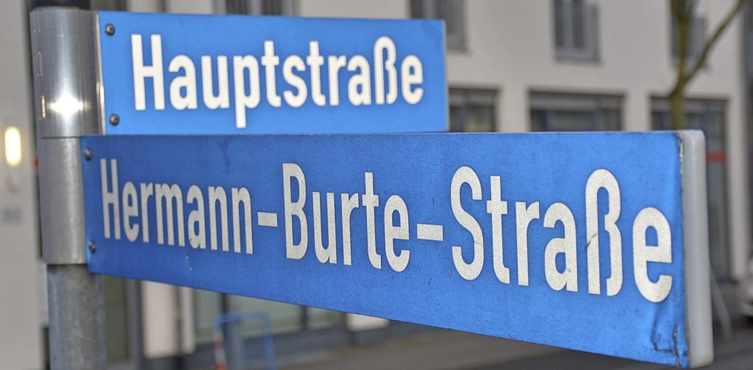 """Umbenennen oder mit Zusatztafel verseh...S-Propagandist zu verurteilen.""""     Foto:  Lauber"""