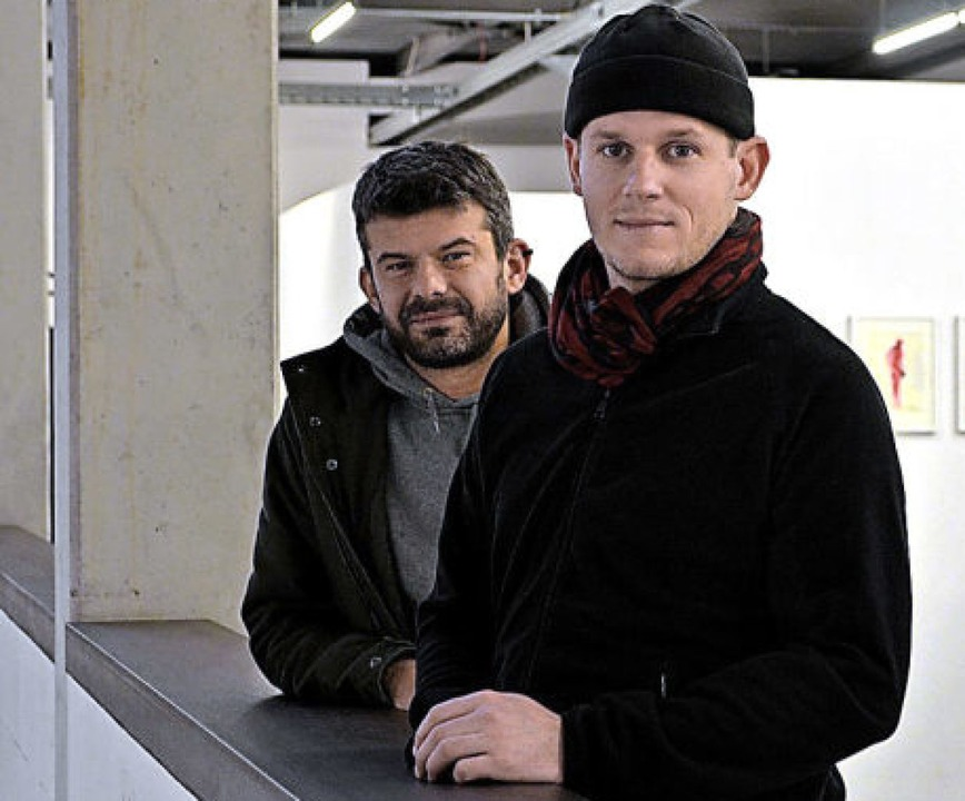 Stefan Winterle und Daniel Künzler.   | Foto:  Kang