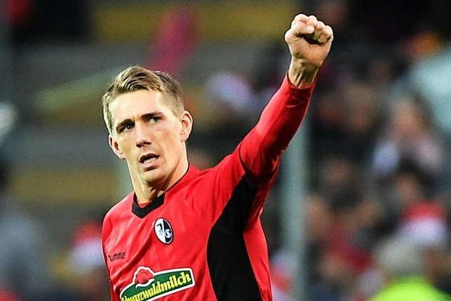 Nils Petersen beschenkt sich nachträglich zum Geburtstag mit einem Treffer