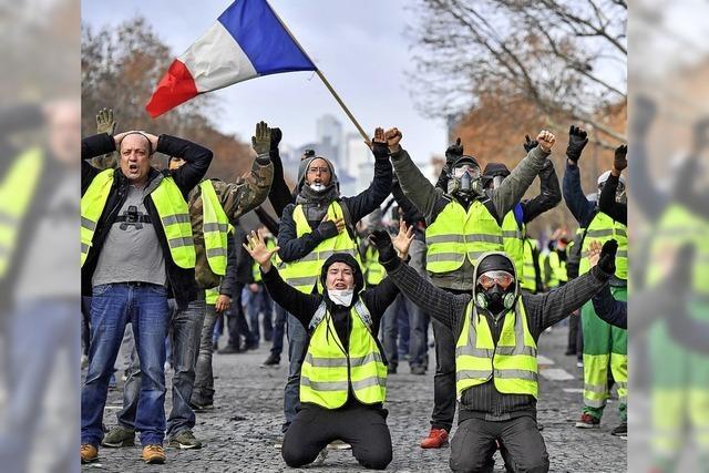 Gewaltsame Proteste