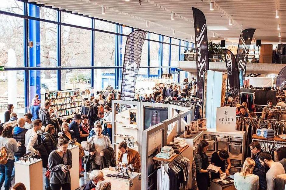 Beim Stijl-Markt in der Freiburger Mensa Rempartstraße gibt es neben regionalen Produkten auch viel Außergewöhnliches. (Foto: Fabio Smitka)