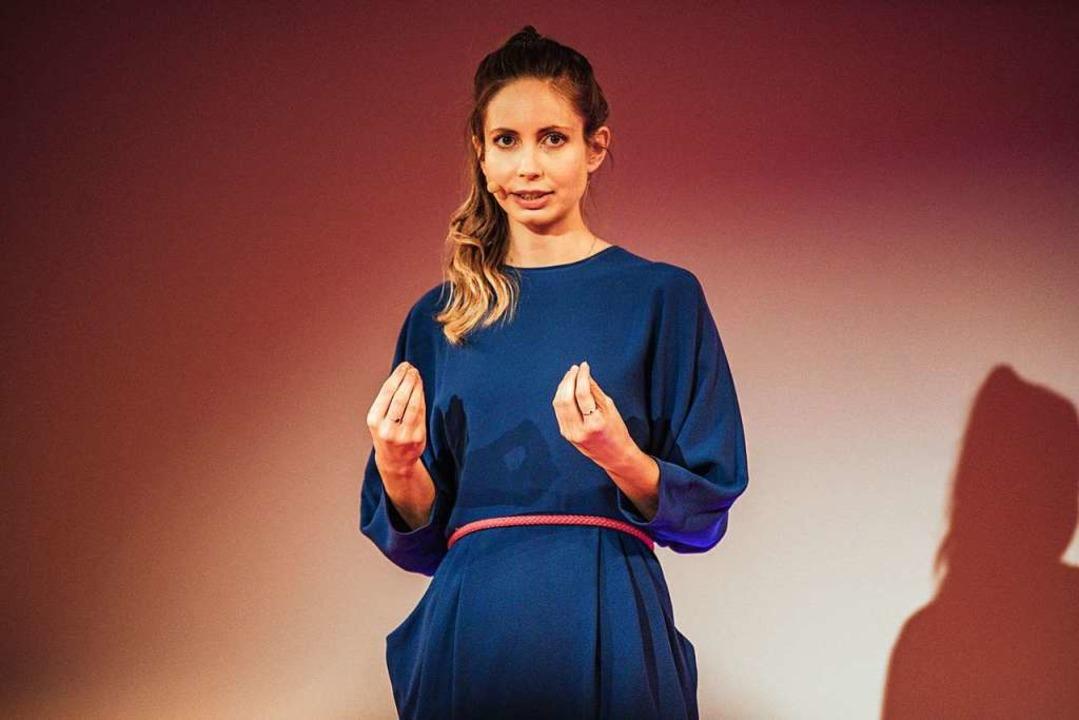 Christiane Stenger, Bestsellerautorin und Juniorweltmeisterin im Gedächtnissport  | Foto: Fabio Smitka