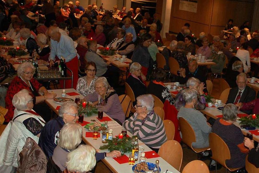 Der Bürgersaal war mit mehr als  300 Besuchern sehr gut besetzt.  | Foto: Petra Wunderle
