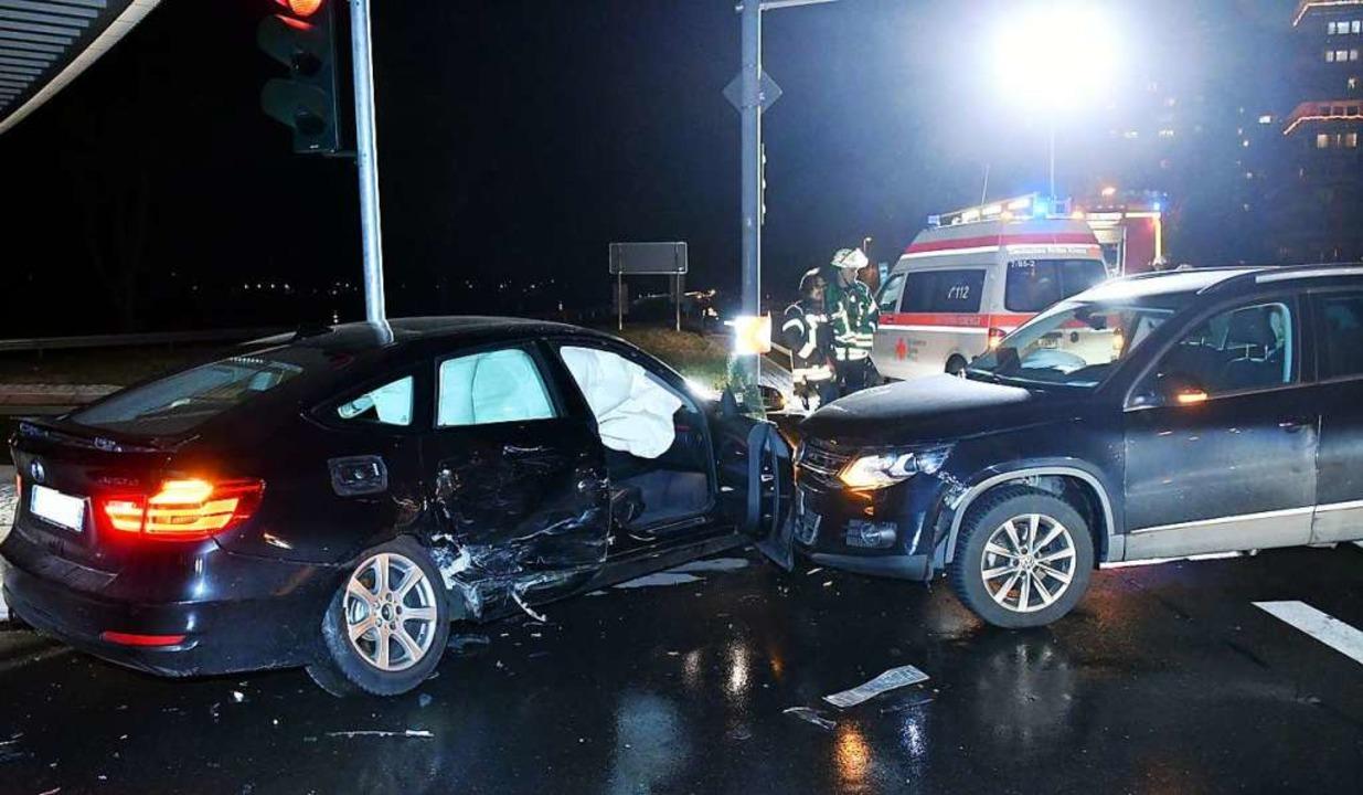 Die Unfallautos  | Foto: Wolfgang Künstle