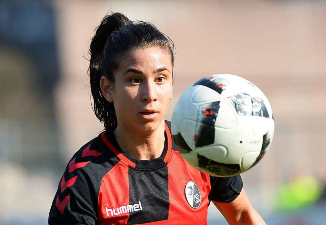 Nach Verletzungen wieder dabei beim SC...burg: Nationalspielerin Hasret Kayikci    Foto: Patrick Seeger