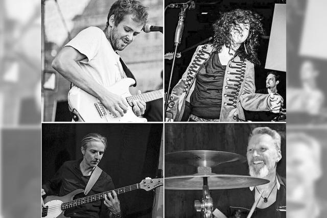 Arno Los Stickos & Blues Friends spielen in Emmendingen