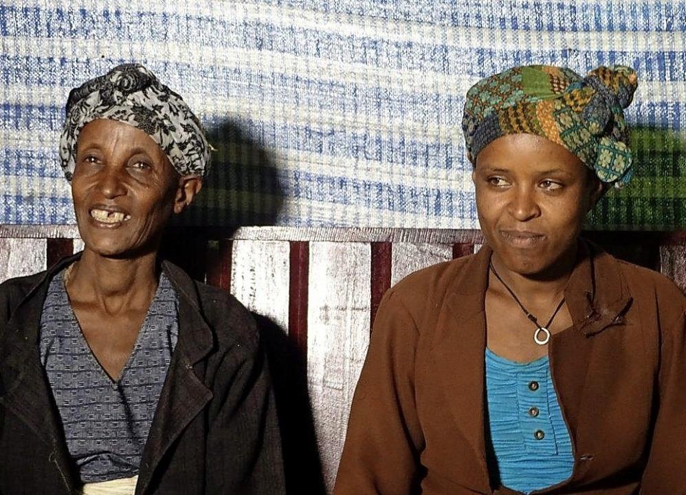 Bayise Diba und ihre Schwiegertochter