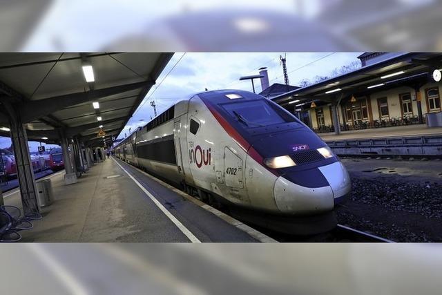 Erster regulärer TGV-Halt in Offenburg