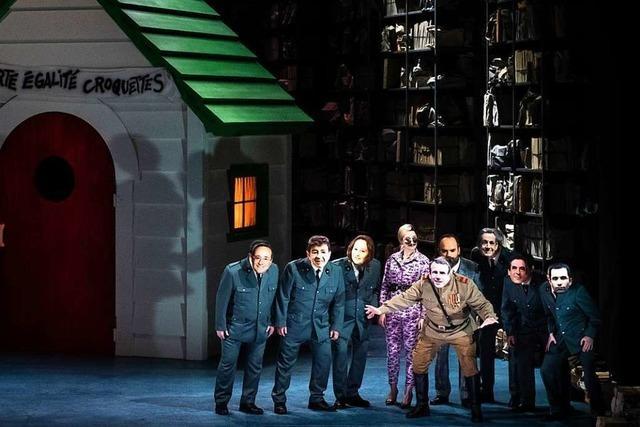 Jacques Offenbachs Buffo-Oper