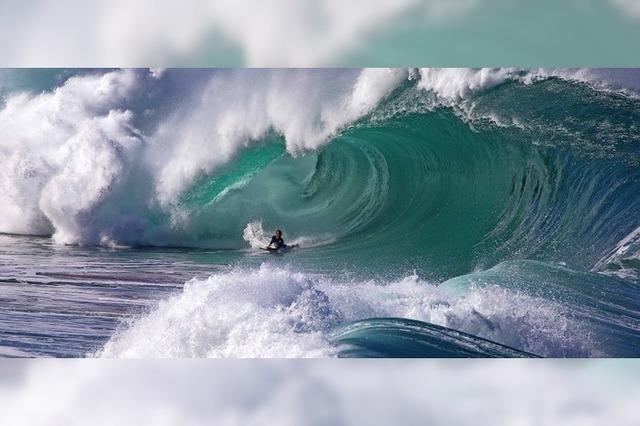 Surfwettbewerb auf Hawaii
