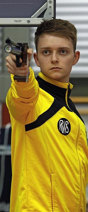 Überbot seinen Saisonbestwert deutlich: Luca Schröder   | Foto: zok