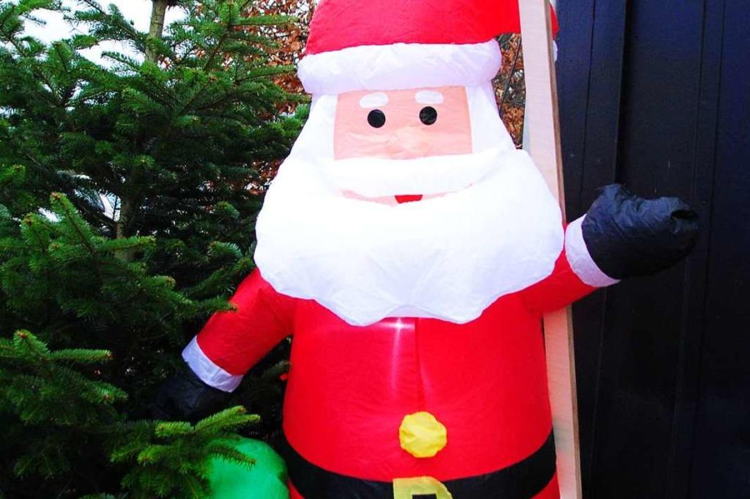 Weihnachtsmarkt ohne Nikolausbesuch? Undenkbar.  | Foto: Norbert Sedlak