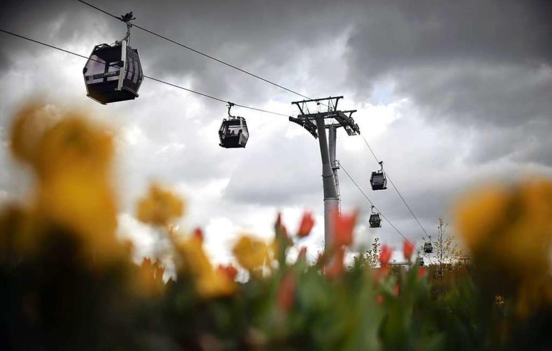 Eine Seilbahn will der Europa-Park in nächster Zeit nicht bauen.  | Foto: dpa