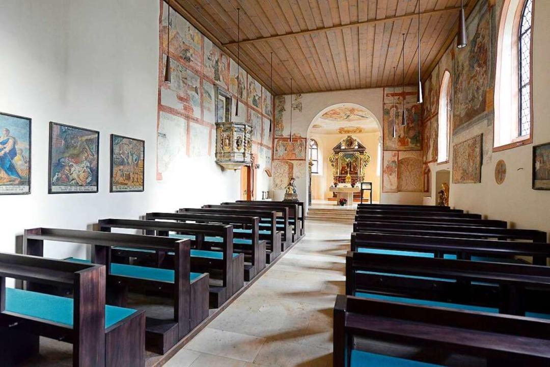 So sieht die Kapelle aktuell von innen aus.  | Foto: Ingo Schneider