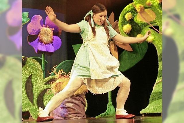 Das Wiener Theater mit Horizont führt Der Zauberer von Oz als Kindermusical im Gloria-Theater in Bad Säckingen auf