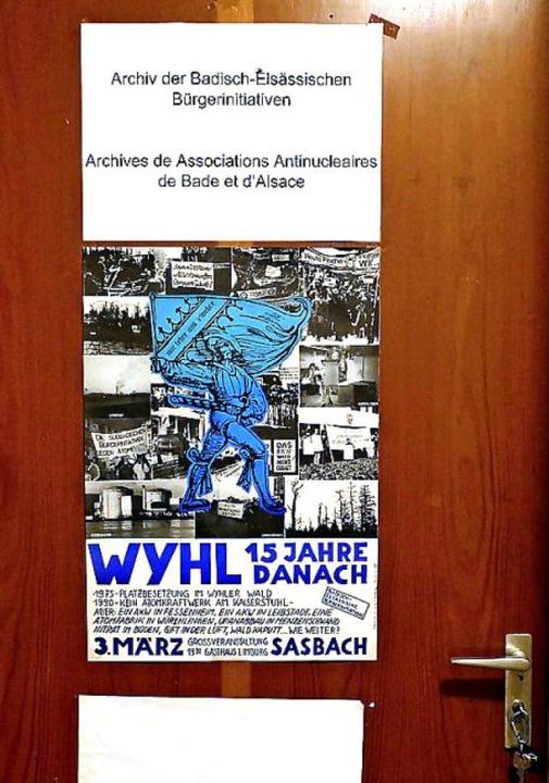 Die Tür zum Archiv    Foto: Lena Marie Jörger
