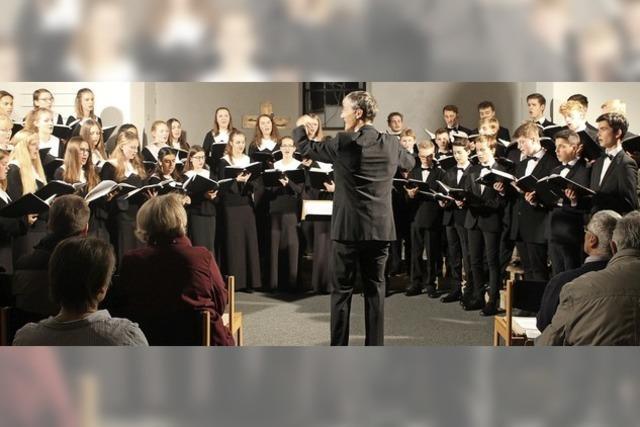 Junge Sänger verzaubern das Publikum