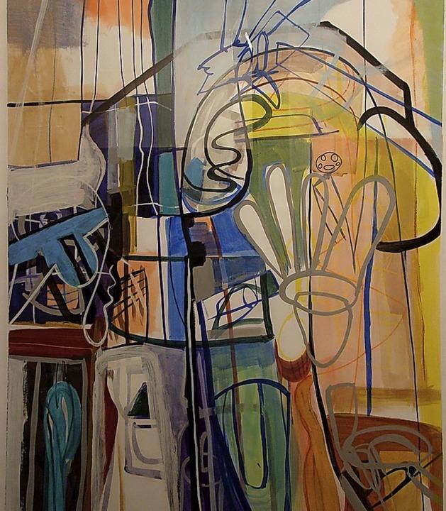 Abstrakte Komposition von Heinz Schultz-Körnig   | Foto: S. Ramm-Weber
