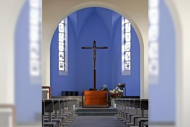 Stau bei der Kirchensanierung