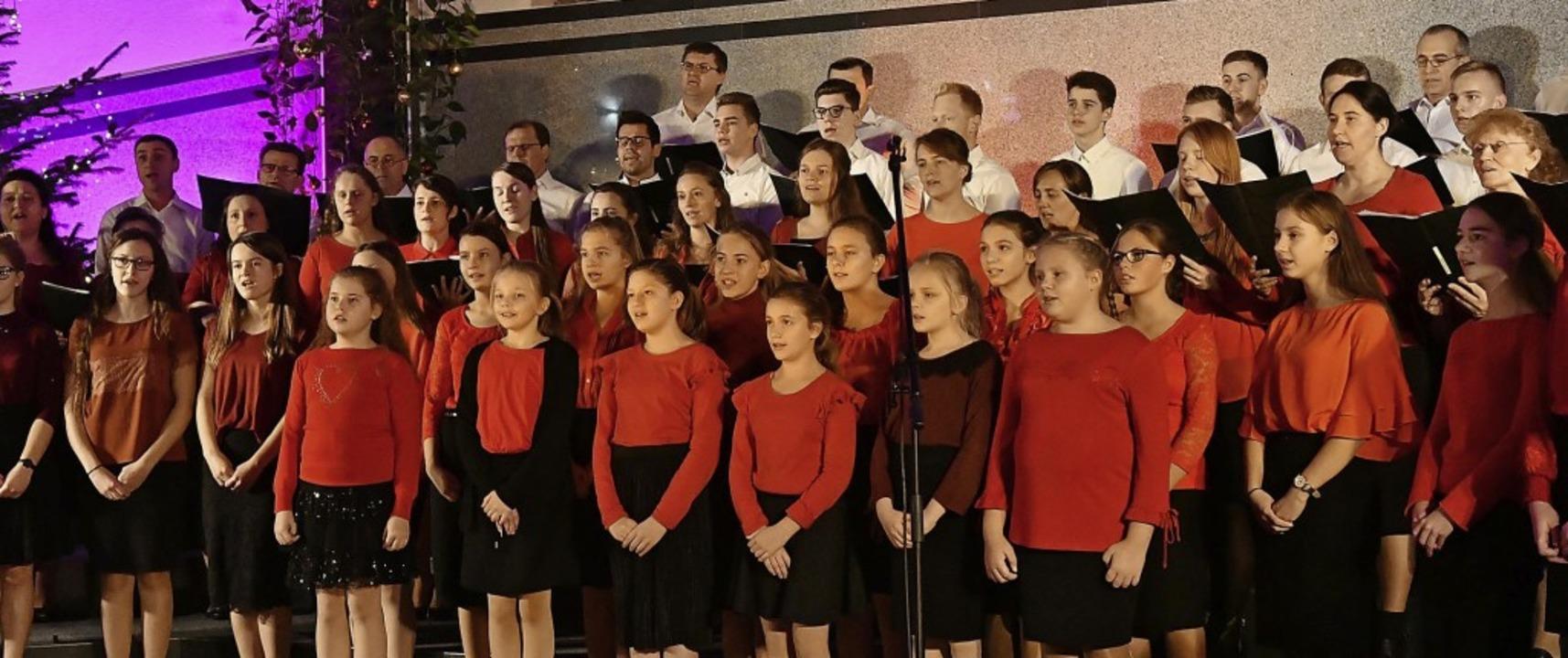Der gemischte Chor  der Freien Evangeliums Christengemeinde Lahr und Trossingen   | Foto: wolfgang künstle