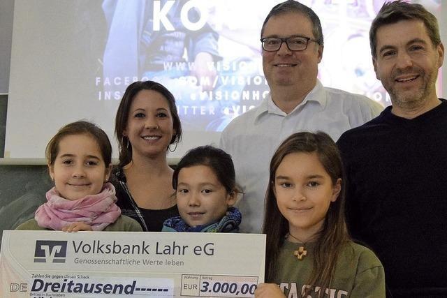 3000 Euro für Vision Hope