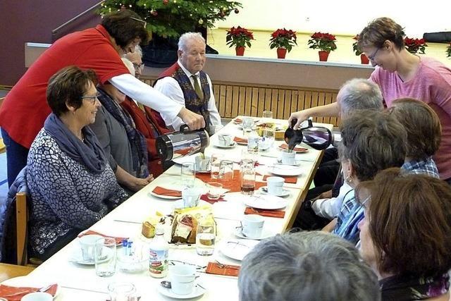 Adventsfeier für Senioren