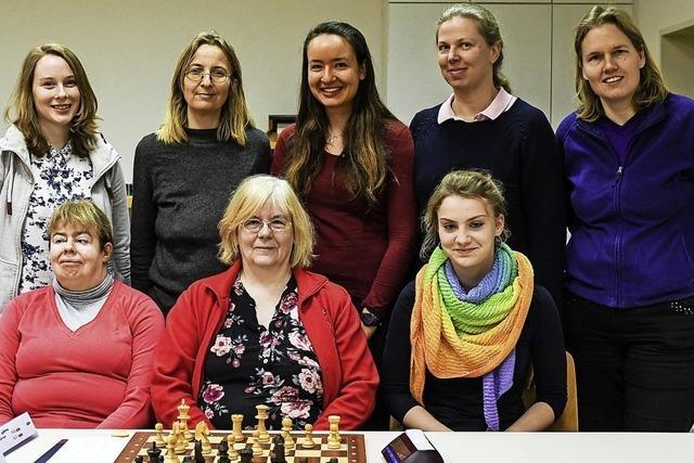 Schachspielerinnen auf Erfolgskurs