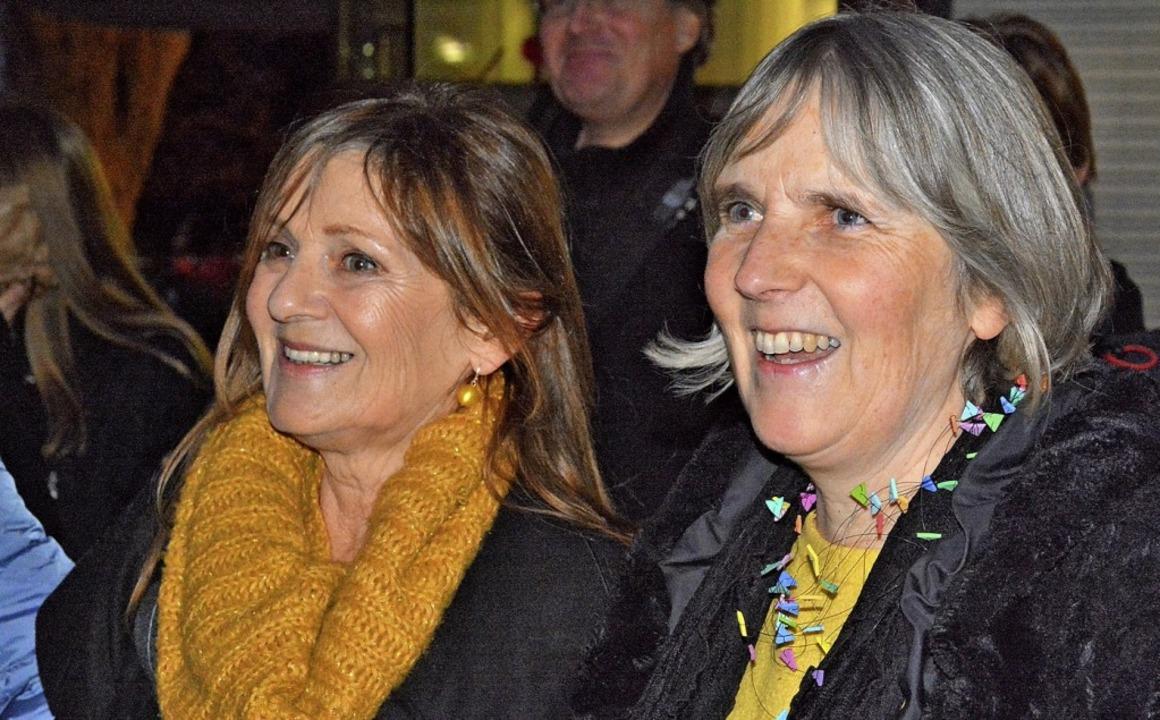 Die Initiatorinnen: Ulrike Schäfer von...inks) und Christine Langen von Unicef.  | Foto: Barbara Ruda