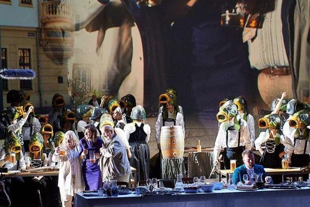 Johannes Maria Stauds und Durs Grünbeins Oper
