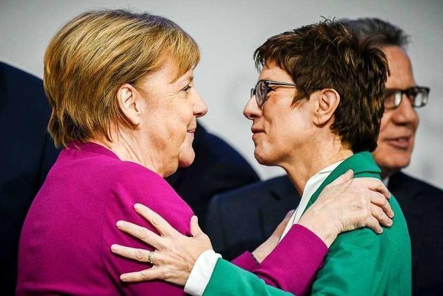 Nach dem Machtwechsel in der CDU warten alle auf Merkels zweiten Zug