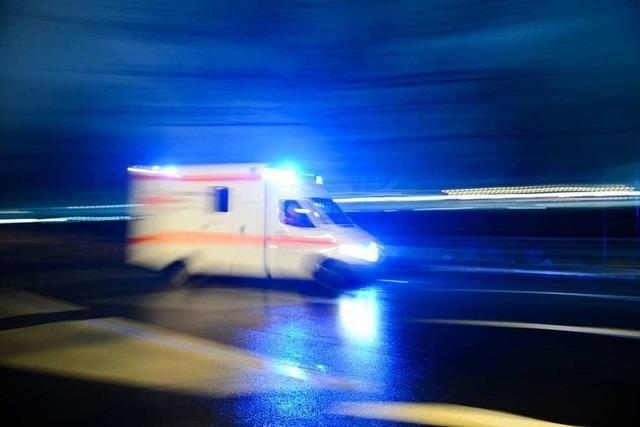 65-Jährige bei Unfall verletzt