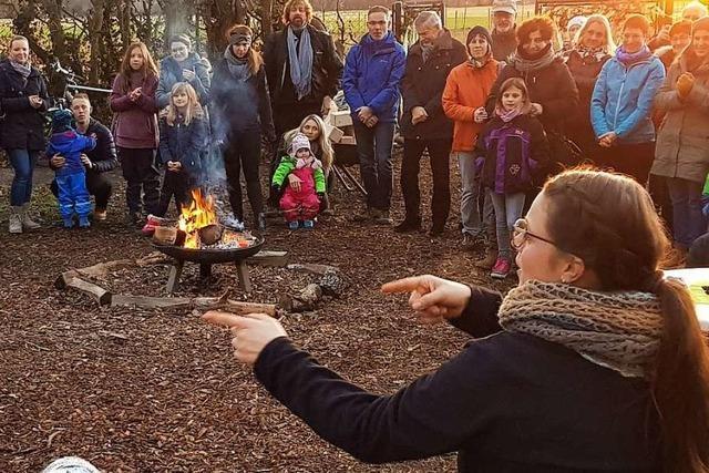 In diesem Umkircher Kindergarten lernt man Ackerbau