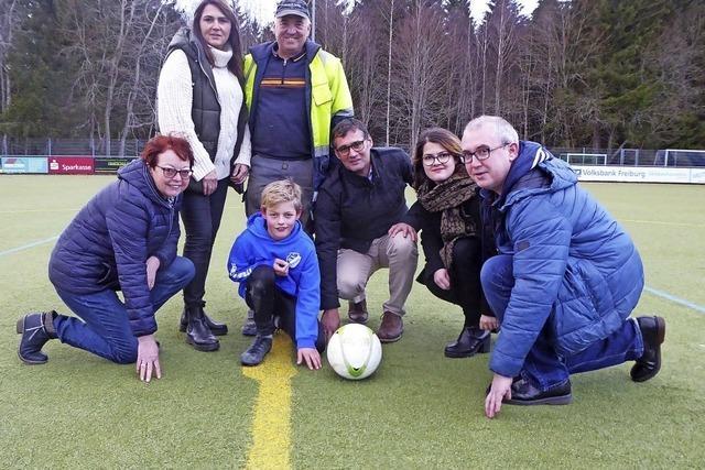 Fußball auf Fusseln