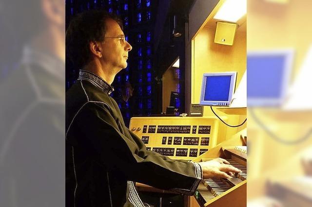 Orgelmusik als Botschaft für den Frieden