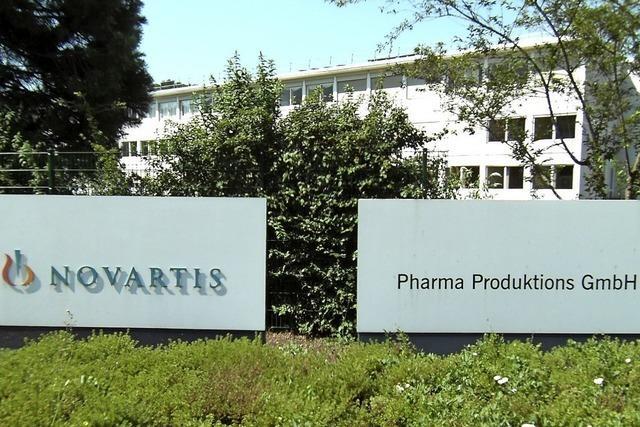 Novartis schaffte neue Infrastruktur