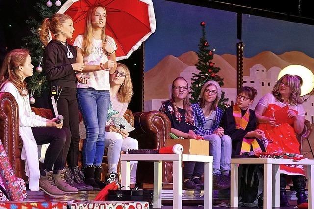 Winterzauber auf der Bühne