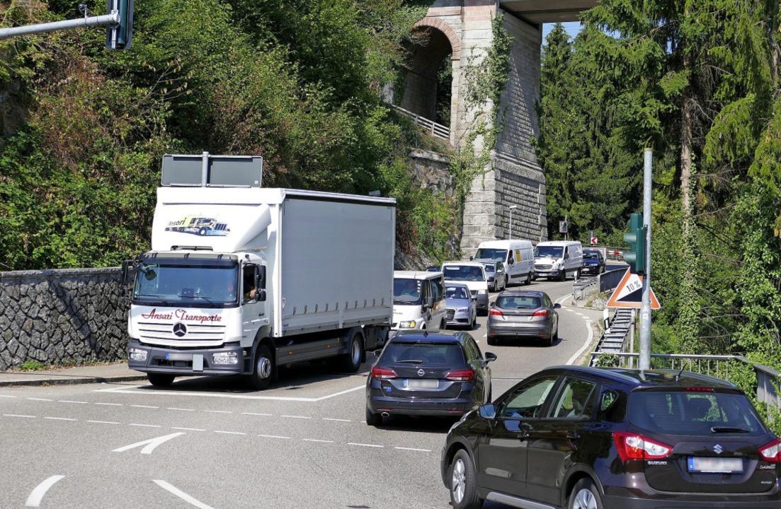 Wird die Abfahrt Hauenstein der A98 nu...desverkehrsministeriums entsprechend.   | Foto: Archivfoto: Winfried Dietsche