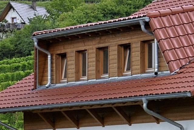 Gemeinderat genehmigt Dacheinschnitt