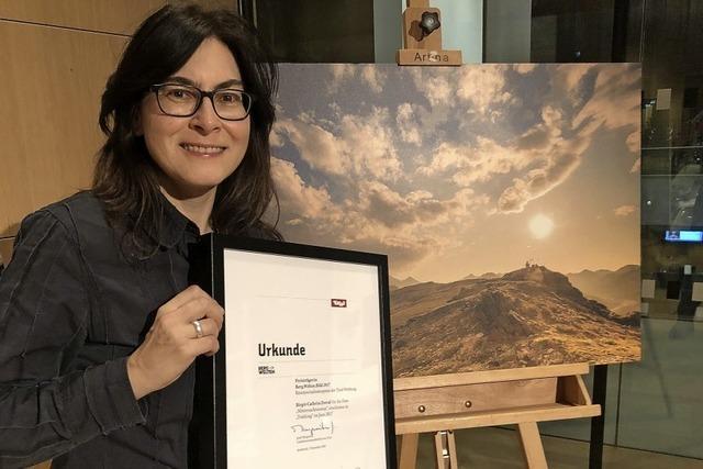 Preis für Fotojournalistin aus Malsburg-Marzell